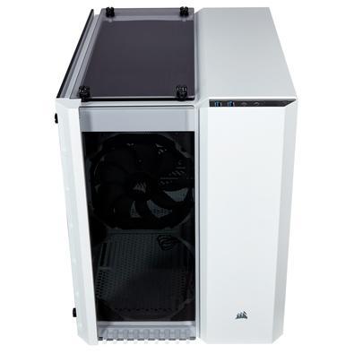 Gabinete Gamer Corsair Crystal Series 280X, Vidro Temperado, Branco - CC-9011136-WW