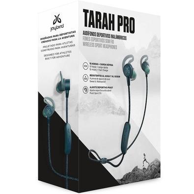 Fone de Ouvido Bluetooth Jaybird Tarah Pro -  Sem Fio, Esportivo, À Prova de Suor e À Prova D´Água - Azul - 985-000827