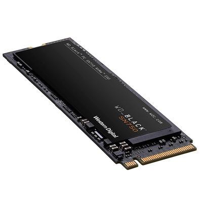 SSD WD Black, 500GB, M.2, Leitura 3470MB/s, Gravação 2600MB/s - WDS500G3X0C