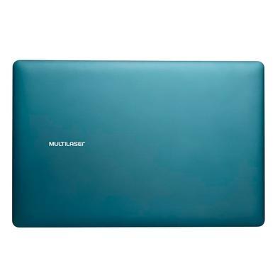 Notebook Multilaser Intel Celeron N3350, 4GB, 64GB, Windows 10, 13.3´, Azul - PC224