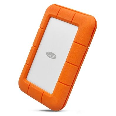 HD LaCie Externo Rugged, 1TB, USB-C, Clay Orange - STFR1000800