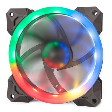 Kit Cooler Fan Redragon com 3 Unidades, RGB, 12cm - GC-F008