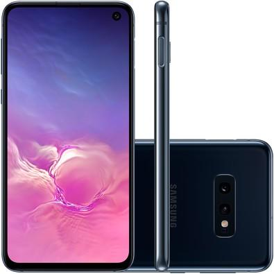 Smartphone Samsung Galaxy S10e, 128GB, 16MP, Tela 5.8´, Preto - SM-G970F/1DL