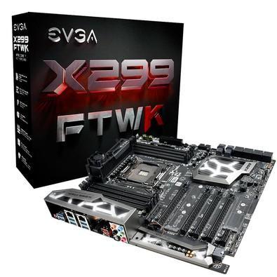 Placa-Mãe EVGA X299 FTW K, Intel LGA 2066, eATX, DDR4 - 142-SX-E297-KR