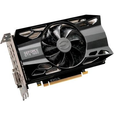 Placa de Vídeo EVGA NVIDIA GeForce GTX 1660 XC Gaming 6GB, GDDR5 - 06G-P4-1163-KR