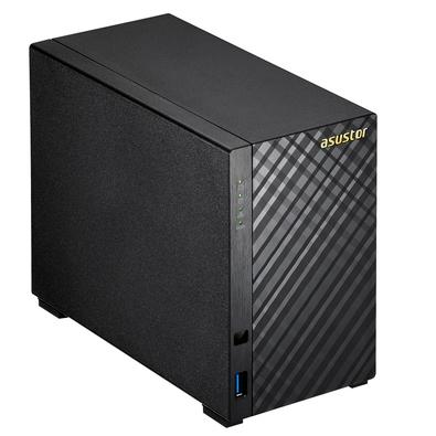 Storage Asustor V2 Marvell NAS 512MB, 2 HD 2TB, 2 Baias - AS1002T4000