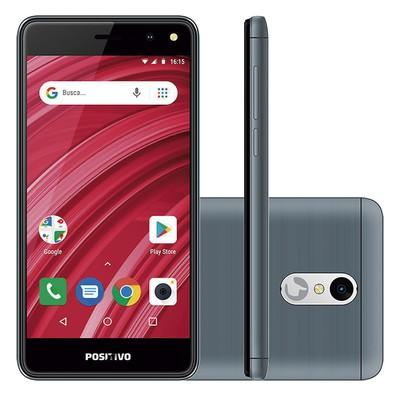 Smartphone Positivo Twist 2 Fit S509, 8GB, 5MP, Tela 5´, Cinza - 11138775