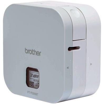 Rotulador Eletrônico Brother, Cubo P-touch, Bluetooth, Portátil - PTP300BT