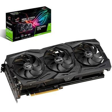 Placa de Vídeo Asus ROG Strix NVIDIA GeForce GTX 1660 Ti 6GB, GDDR6 - ROG-STRIX-GTX1660TI-O6G-GAMING