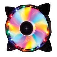 Cooler Fan OEX F30 16 LED Colorido, 12cm