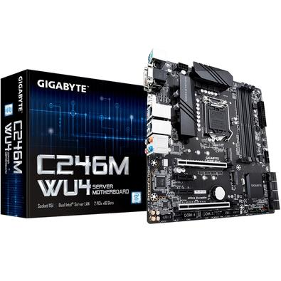 Placa-Mãe Gigabyte C246M-WU4, Intel LGA 1151, mATX, DDR4