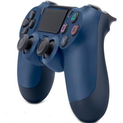 Controle Sony Dualshock 4 PS4, Sem Fio, Azul - CUH-ZCT2U
