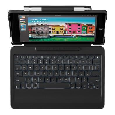 Capa Logitech Slim Combo Com Teclado Iluminado Para iPad Pro 10.5´ Preto - 920-008376