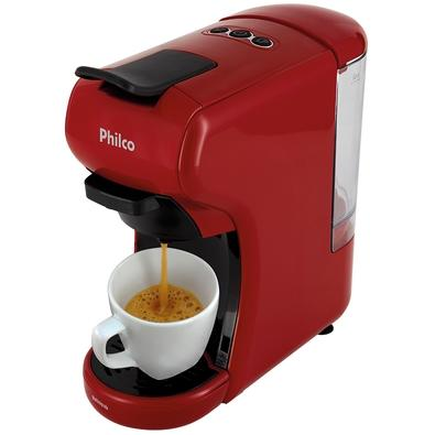 Cafeteira Philco Multicápsula, 600ml, 1450W, 110V - PCF19VP