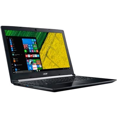 Notebook Acer Aspire 5, AMD A12-9720P, 8GB, 1TB, AMD Radeon RX 540 2GB, Windows 10 Home, 15.6´ - A515-41G-13U1