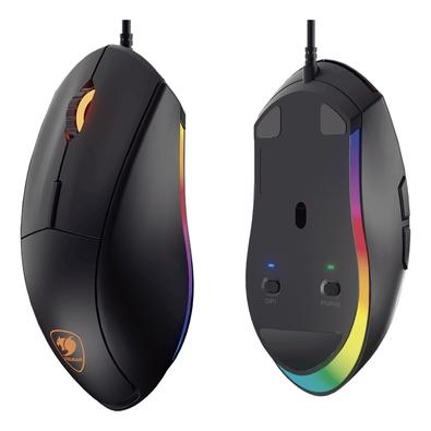 Mouse Gamer Cougar Minos XT, RGB, 6 Botões, 4000DPI