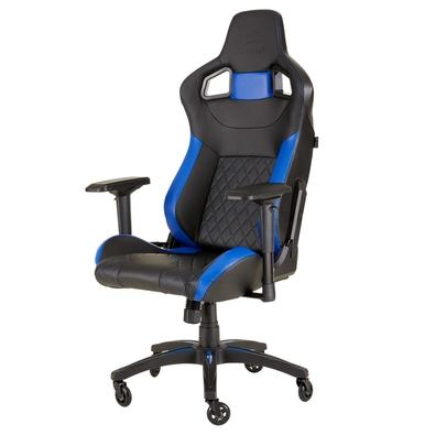 Cadeira Gamer Corsair T1 Race Preta/Azul - CF-9010014-WW