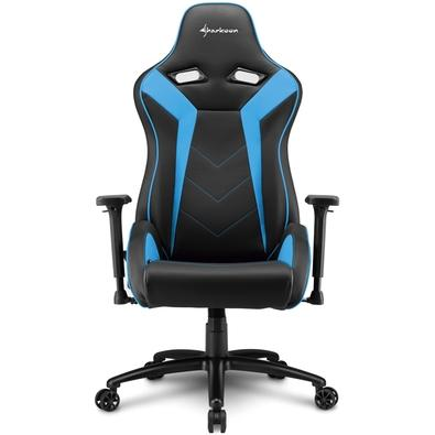 Cadeira Gamer Sharkoon Elbrus 3, Black Blue