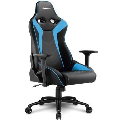 Cadeira Gamer Sharkoon Shark Elbrus 3, Black Blue