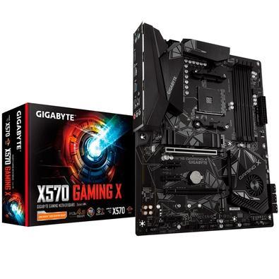 Placa-mãe Gigabyte X570 Gaming X, AMD AM4, ATX, DDR4