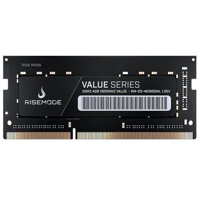 Memória Rise Mode 4GB, 1600MHz, DDR3, Notebook - RM-D3-4G1600NL