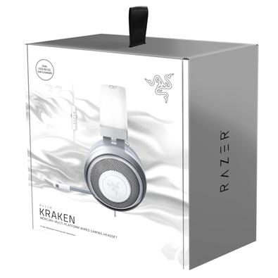 Headset Gamer Razer Kraken Multi Platform, P2, Drivers 50mm, Mercury White - RZ04-02830400-R3M1