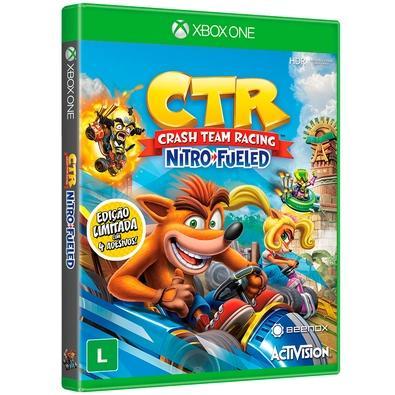 Game Crash Team Racing Nitro-Fueled Edição Padrão Xbox One