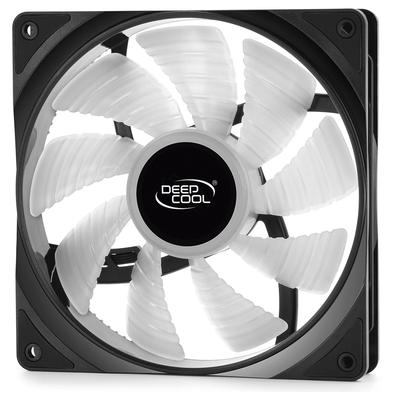 Kit com 2 Cooler FAN Deepcool RF 140 2 em 1, 140mm, RGB - DP-FRGB-RF140-2C