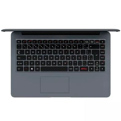 Notebook Positivo Motion I3 41TAI, Intel i3-7020U, 4GB, 1TB, 14´, Linux , Prata - 3011575