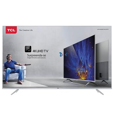 Smart TV LED 55´ 4K TCL P6US, 3 HDMI, 2 USB, HDR - 55P6US
