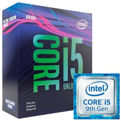 Processador Intel Core i5-9600KF Coffee Lake Refresh, Cache 9MB, 3.7GHz (4.6GHz Max Turbo), LGA 1151, Sem Vídeo - BX80684I59600KF