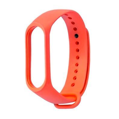 Bracelete Xiaomi Mi band 3, Silicone, Laranja - XM270LAR