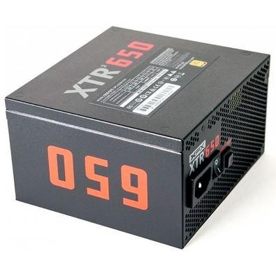 Fonte XFX XTR2 Série 650W 80 Plus Gold Modular - P1-0650-XTR2