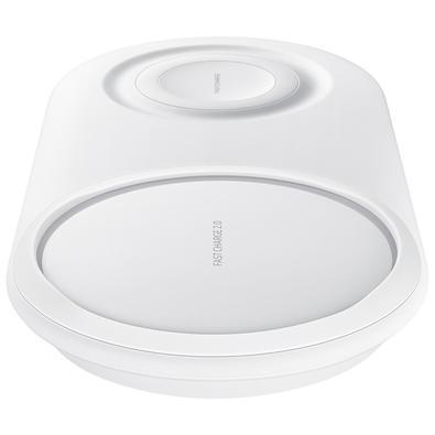 Carregador Sem Fio Samsung Duplo, USB Tipo C, Branco
