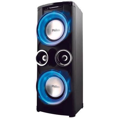 Caixa Acústica Portátil Philco - Bluetooth, Entrada Auxiliar, USB, Microfone, Bivolt - PHT12000