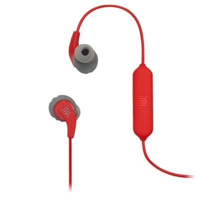 Fone de Ouvido Bluetooth Esportivo JBL Endurance Run BT, Com Microfone, Vermelho - JBLENDURRUNBTRED