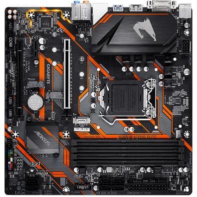 Placa-Mãe Gigabyte B365 M Aorus Elite, Intel LGA 1151, mATX, DDR4