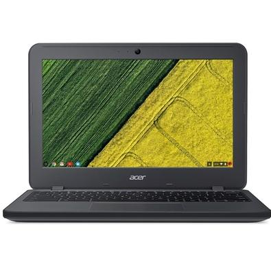 Chromebook Acer N7 Intel Celeron N3060 4GB, eMMC 32GB, Intel HD Graphics, Chrome OS, 11.6´, Cinza - C731T-C2GT