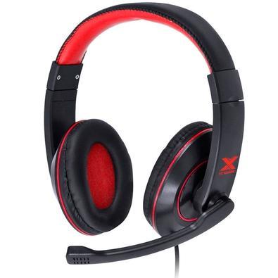 Headset Gamer Vinik VX Gaming V Blade II, Drivers 40mm, Preto e Vermelho - 29378