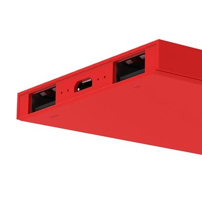 Carregador Portátil Universal Geonav, 6200 mAh, Vermelho - PB6200R