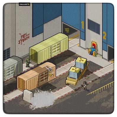 Mousepad Gamer Fallen Train, Speed, Grande