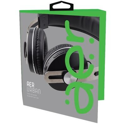 Headphone Bluetooth Geonav AerUrban, Recarregável, Preto - AER04BK
