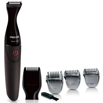 Modelador de Barba Ultrapreciso Philips Multigroom, Pilha AA - MG1100/16