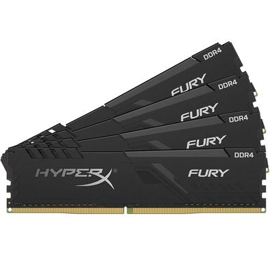 Memória Ram Fury 64gb Kit(4x16gb) Ddr4 266mhz Hx426c16fb3k4/64 Hyperx