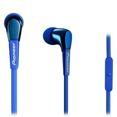 Fone de Ouvido Auricular Pioneer SE-CL722T, Com Microfone, Azul - SE-CL722TL