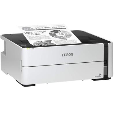 Impressora EPSON EcoTank M1180, Jato de Tinta, Monocromática, Wi-Fi, Bivolt - M1180