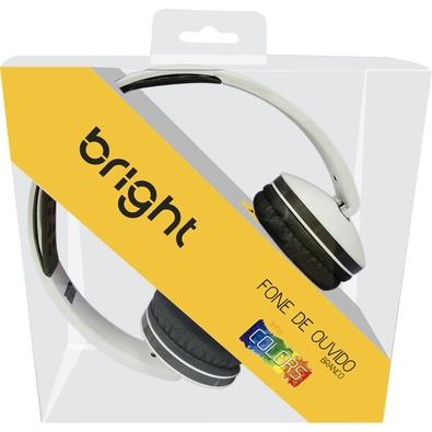 Headphone Bright Colors, P2, Branco - 0469