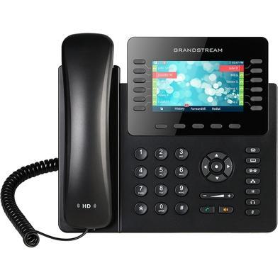 Telefone IP Grandstream, 6 Contas SIP, 12 Linhas, Preto - GXP2170
