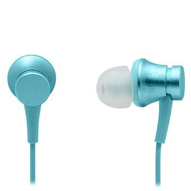 Fone de Ouvido Xiaomi Mi In-Ear Headphones Basic, com Microfone, Azul - XM280AZU