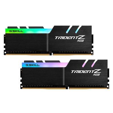 Memória G.Skill Trident Z RGB, 32GB (2x16GB), 3000MHz, DDR4, CL16 - F4-3000C16D-32GTZR